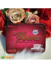Cà phê kích dục ViaMax Power cho nữ tăng ham muốn