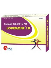 Trị rối loạn cương dương Love more 10 tadalafil
