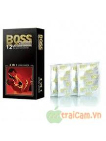 Bao cao su Boss 12 cái giúp kéo dài thời gian quan hệ
