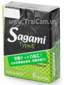 Bao cao su sagami type e