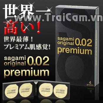 Bao cao su Sagami Original Premium