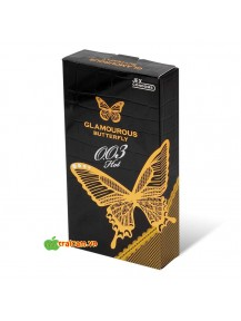 Bao cao su siêu mỏng Jex Glamourous Butterfly Hot 003