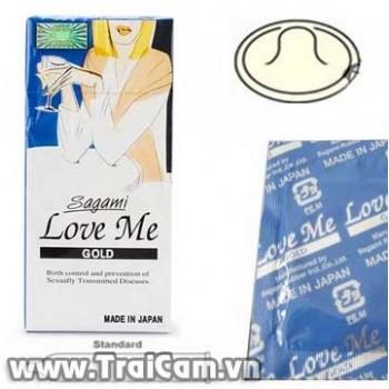 Bao cao su siêu mỏng Sagami Love Me Gold