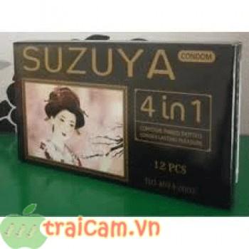 Bao cao su Suzuya 4 trong 1 đến từ Nhật Bản