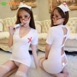 Bộ đồ ngủ cosplay y tá nữ khiêu gợi