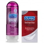Gel bôi trơn Durex Play 2in1