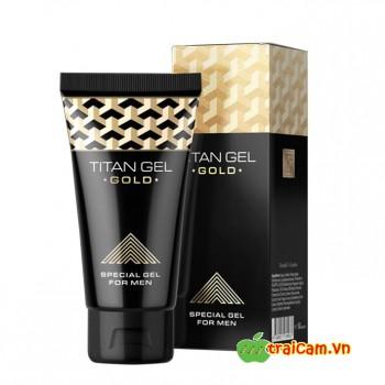 Gel Titan Gold tăng kích thước dương vật và kéo dài thời gian quan hệ