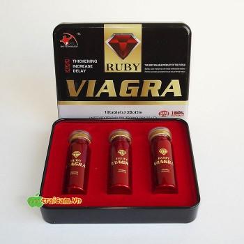 Thuốc cường dương thảo dược Ruby Viagra USA