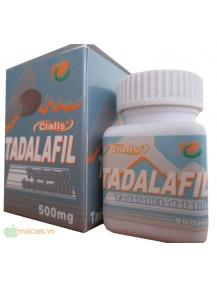Thuốc trị rối loạn cương dương Tadalafil 500mg 10 viên