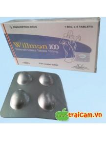 Thuốc Willmon 100mg giúp tăng cường sinh lực của nam giới