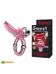Vòng rung Sweet kích thích điểm G cực mạnh