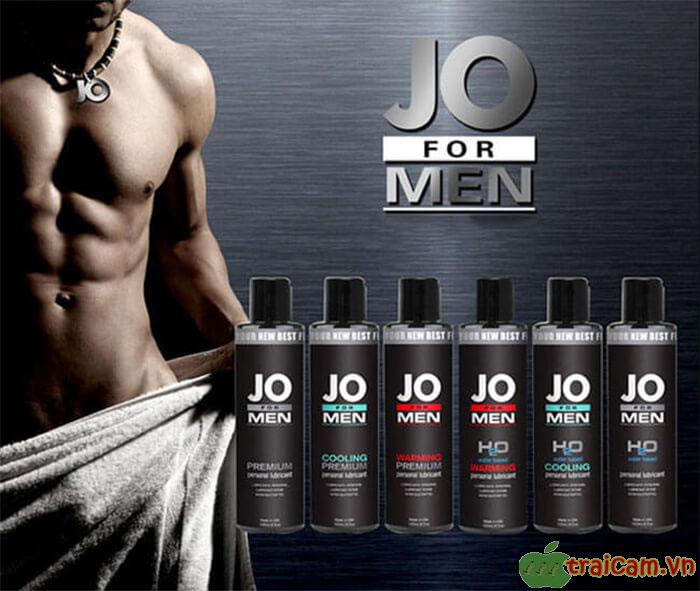 Gel Bôi Trơn Cao Cấp JO For Men H2O Cho Nam - Traicam.vn 1