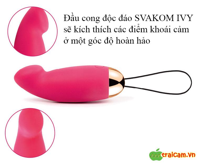 Trứng Rung Âm Đạo Cao Cấp Svakom IVY - Traicam.vn 2