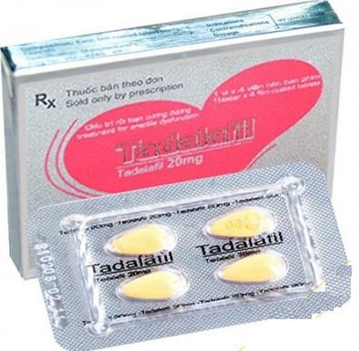 Tadalafil 20mg trị xuất tinh sớm hiệu quả
