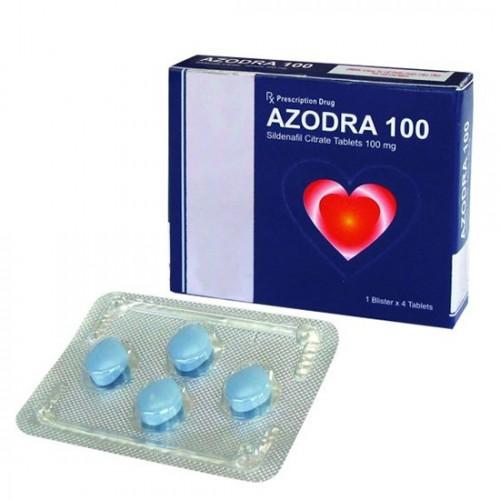 Thuốc cương dương thiên nhiên Azodra 100mg trị rối loạn cương dương