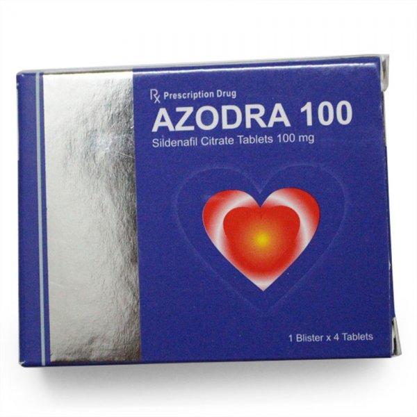 Thuốc cương dương thiên nhiên Azodra 100mg trị rối loạn cương dương 1