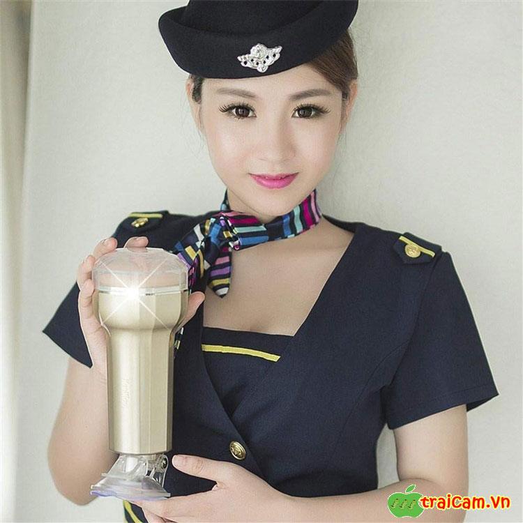Âm Đạo Hít Tường Cao Cấp Điều Khiển Từ Xa Manmiao Gold - Traicam.vn 6