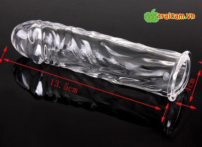 Bao cao su đôn zên (donzen) trơn giống dương vật thật nhất