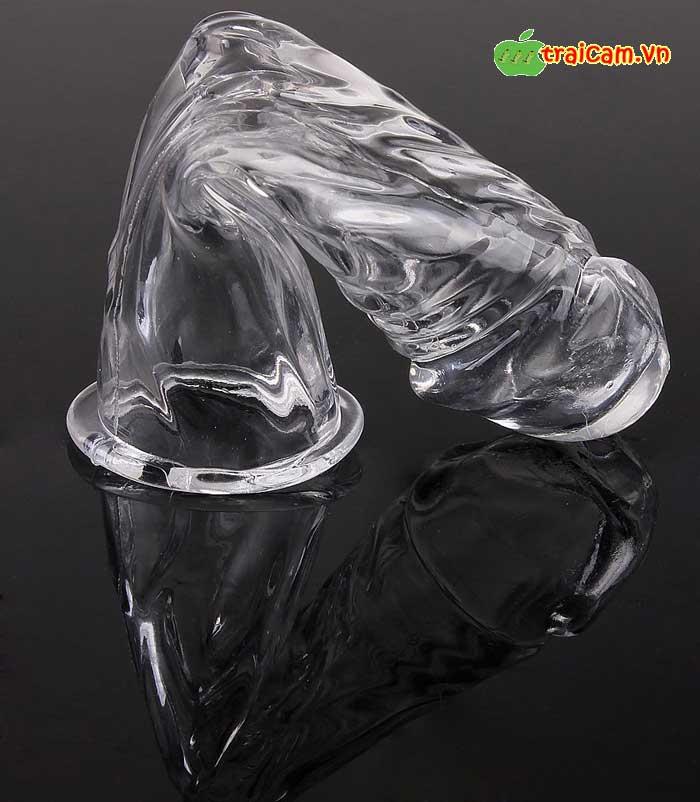 Bao cao su đôn zên (donzen) trơn giống dương vật thật nhất 3