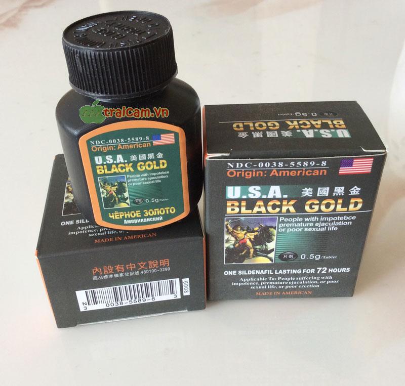 Black Gold USA - Làm cậu bé cương cứng khẩn cấp hiệu quả