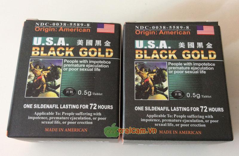 Black Gold USA - Làm cậu bé cương cứng khẩn cấp hiệu quả 1