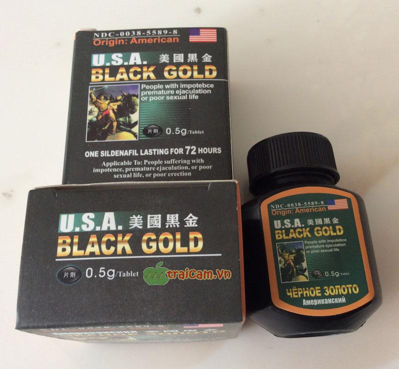 Black Gold USA - Làm cậu bé cương cứng khẩn cấp hiệu quả 2