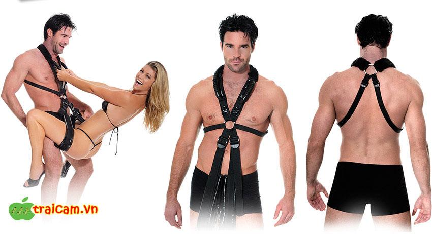 Bộ dây đu treo cho cặp đôi quan hệ tình dục dễ dàng thực hiện các tư thế quan hệ khác nhau 3
