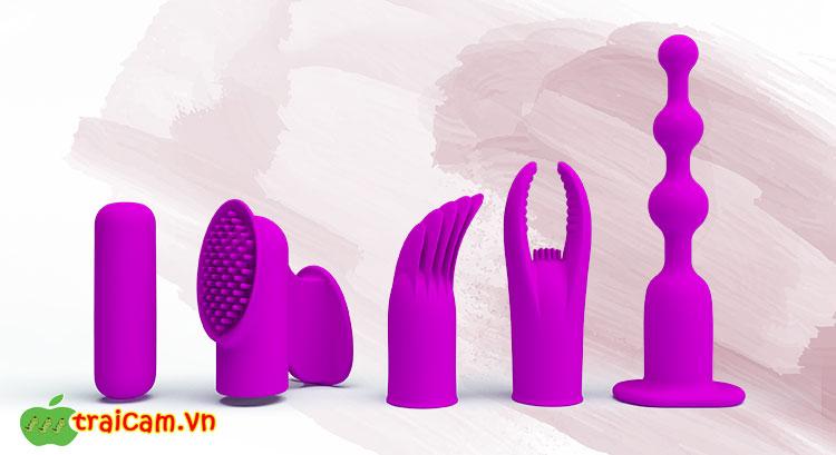 Bộ đồ chơi tình dục 4 món rung Pretty Love nam nữ đều có thể dùng được 1