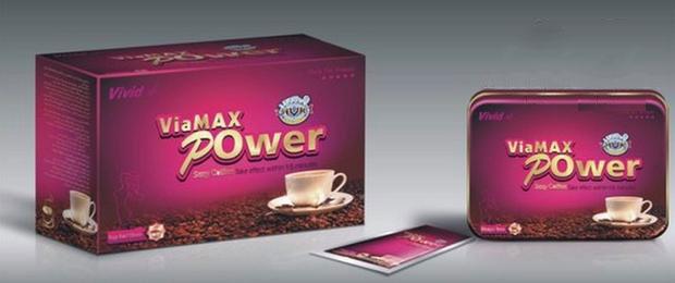 Cà phê kích dục ViaMax Power cho nữ tăng ham muốn nhanh hơn