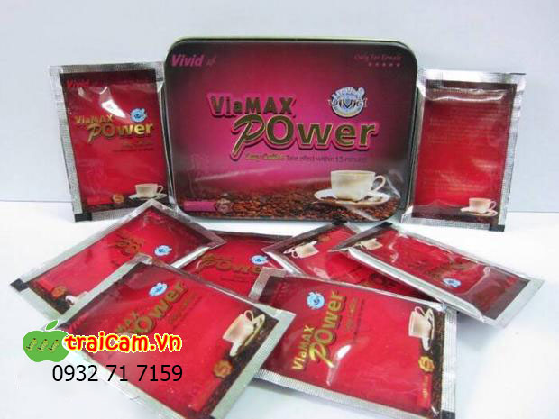 Cà phê kích dục ViaMax Power cho nữ tăng ham muốn nhanh hơn 1