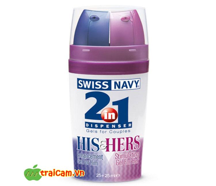 Cách kéo dài thời gian quan hệ với thuốc xịt Swiss Navy 2 in 1