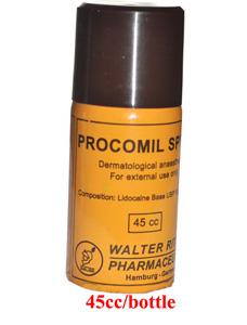 Chai xịt chữa trị bệnh xuất tinh sớm Procomil Spray dùng cho nam
