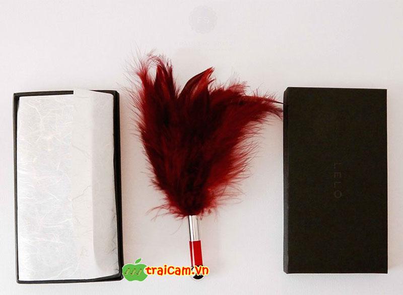 Chổi lông vũ LELO Tantra kích thích làn da phụ nữ 2