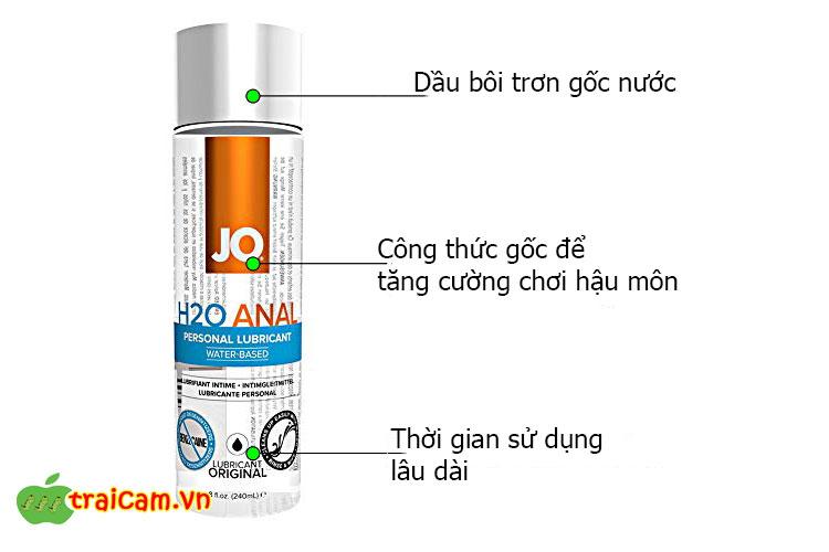 Dầu bôi trơn hậu môn tự nhiên JO H2O bôi trơn hiệu quả cho cuộc vui từ cửa sau 1