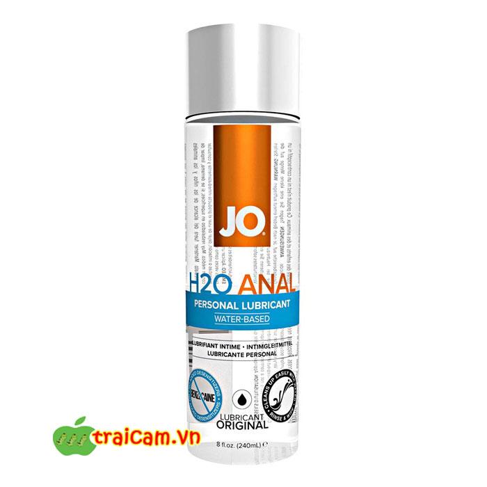 Dầu bôi trơn hậu môn tự nhiên JO H2O bôi trơn hiệu quả cho cuộc vui từ cửa sau