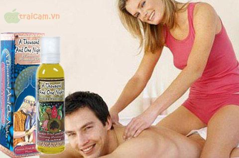 Dầu massage nghìn lẻ một đêm hưng phấn cho vợ chồng