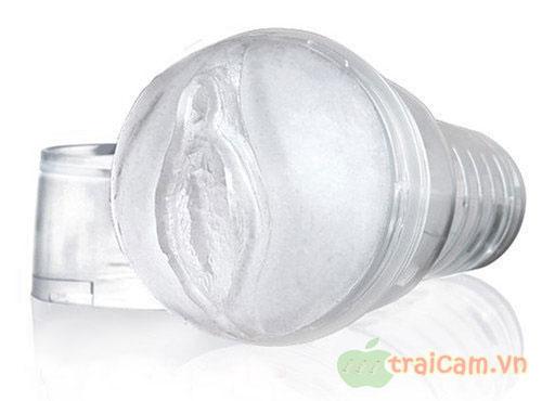 Đèn pin âm đạo silicon trong suốt