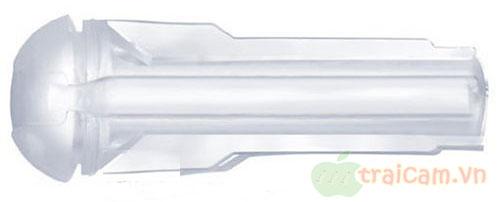 Đèn pin âm đạo silicon trong suốt 2