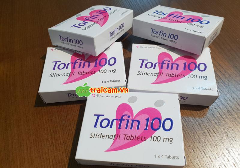 Điều trị rối loạn cương dương bằng thuốc Torfin 100 phục hồi sinh lý nam 1
