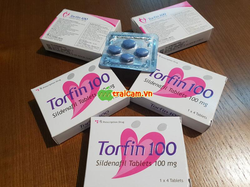 Điều trị rối loạn cương dương bằng thuốc Torfin 100 phục hồi sinh lý nam 2