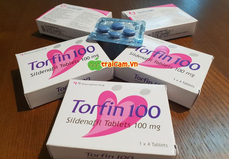 Điều trị rối loạn cương dương bằng thuốc Torfin 100 phục hồi sinh lý nam 3