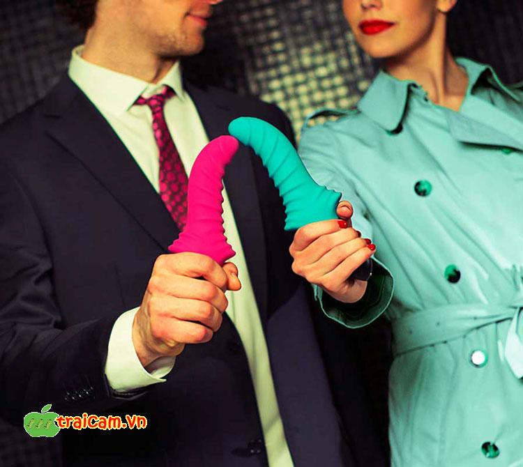 Đồ chơi tình dục đa khoái cảm kích thích âm đạo và hậu môn Fun Factory Stronic Drei kích thích mạnh 3