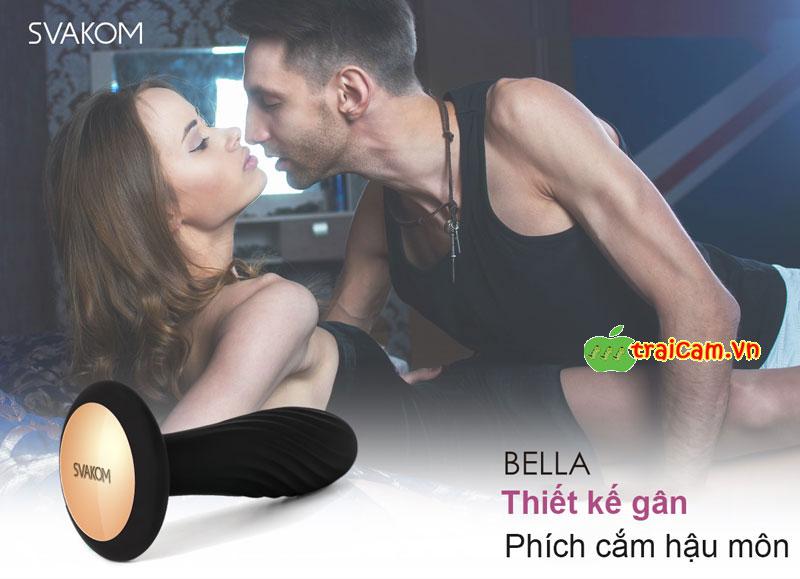 Đồ chơi tình dục qua đường hậu môn Svakom Bella mang lại khoái cảm cực mạnh 10