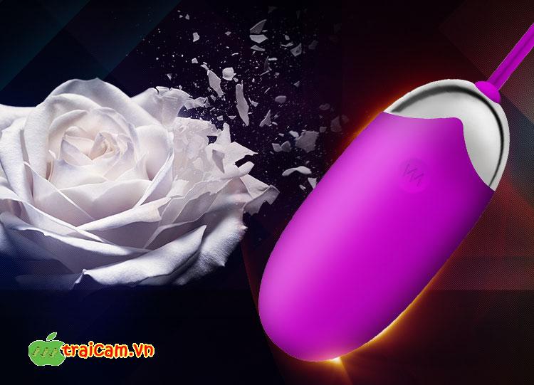 Dụng cụ kích thích điểm G cho phụ nữ trứng rung Pretty Love Abner cho nữ chảy nước 1