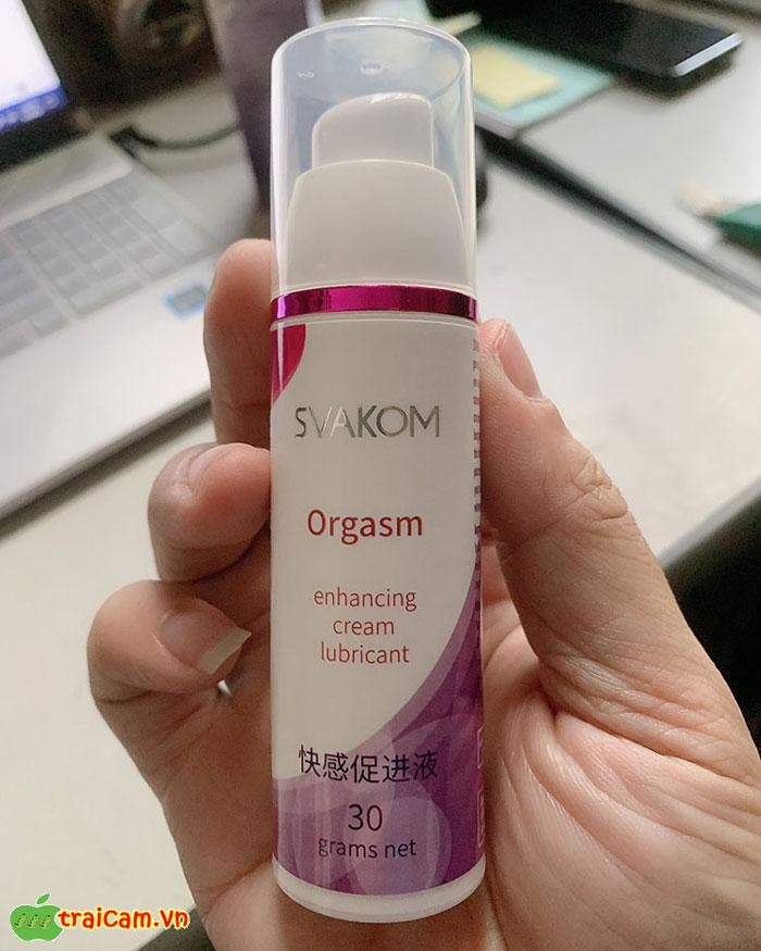 Gel Bôi Trơn Tăng Khoái Cảm Cho Nữ Svakom Orgasm - Traicam.vn 4