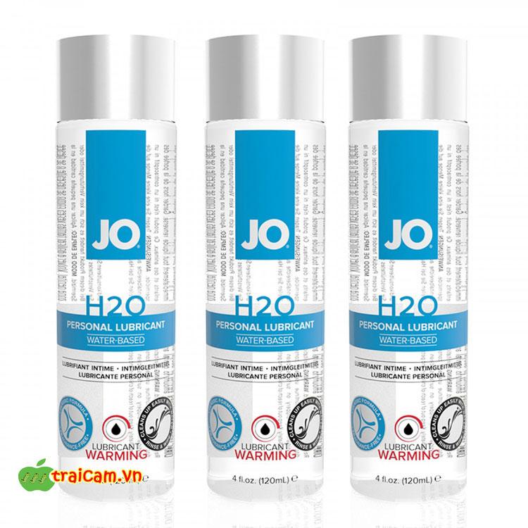 Gel bôi trơn gốc nước JO H2O giúp bạn thoải mái hơn khi quan hệ tình dục 1