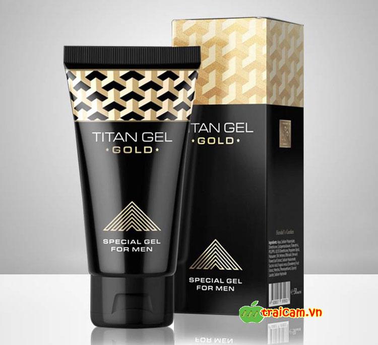 Gel Titan Gold tăng kích thước dương vật và kéo dài thời gian quan hệ cho nam giới 1