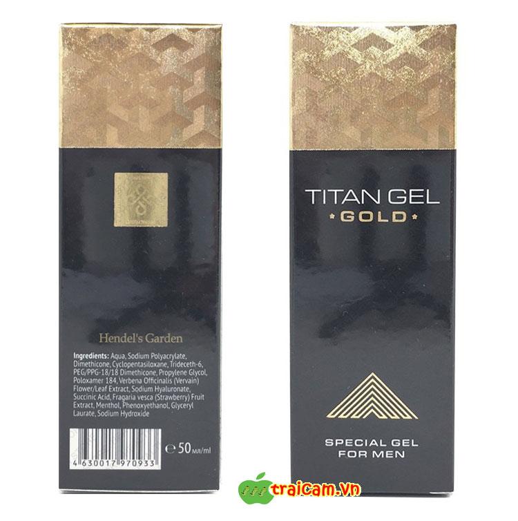 Gel Titan Gold tăng kích thước dương vật và kéo dài thời gian quan hệ cho nam giới 7