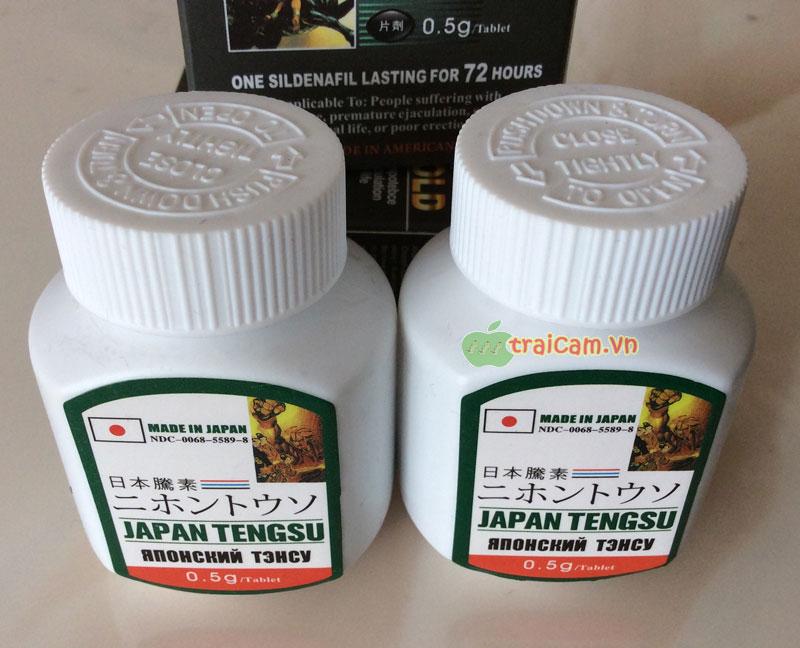 Japan Tengsu - Thuốc tăng cường sinh lý nam giới tốt nhất