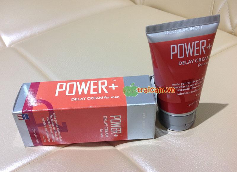 Kem bôi kéo dài thời gian Power+ Delay Cream For Men 3